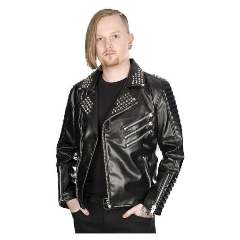 Herren Metal Jacke BLACK PISTOL - Rockers - Himmel Schwarz - B-6-07-113-00 XL