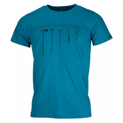 Northfinder BENJIL blau - Herrenshirt