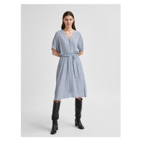 Selected Femme Vienna Kleid Blau