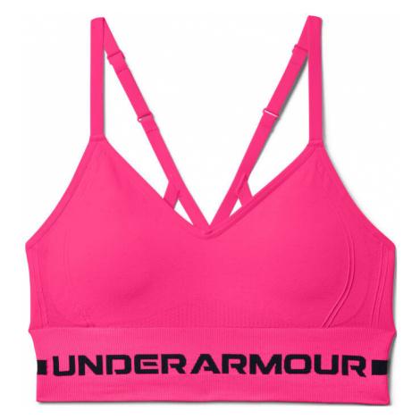 SeamlessLowLongPaddedSport-BH-Pink.Schwarz Under Armour