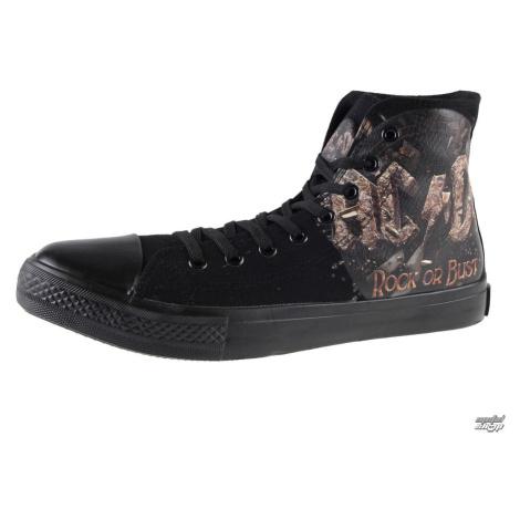 High Top Sneakers Frauen AC-DC - Rock Or Bust - F.B.I. - 4510242