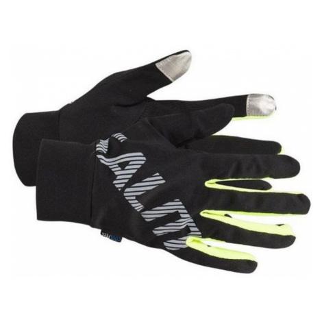Lauf Handschuhe Runnig Gloves Black Salming