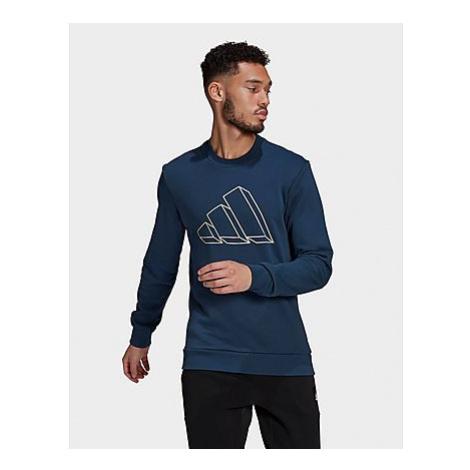 Adidas Sportswear Graphic Sweatshirt - Crew Navy - Herren, Crew Navy
