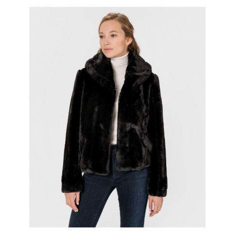 Guess New Sophy Fur Schwarz