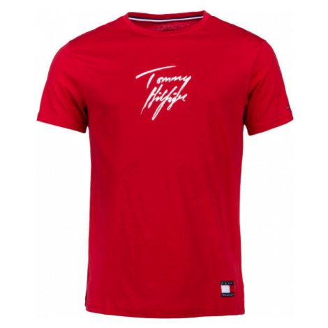 Tommy Hilfiger CN SS TEE LOGO - Herrenshirt