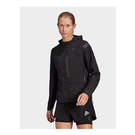 Adidas Marathon Translucent Jacke - Black / Black - Damen, Black / Black