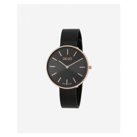 Liu Jo Glamour Globe Maxi Armbanduhr Schwarz