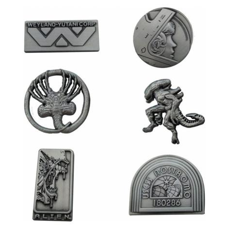 Pins (6er Pack) Alien - Limited Edition - FNTK-FOX-AL113