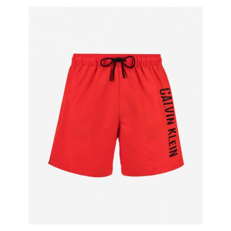 Calvin Klein Medium Drawstring Bikini Rot