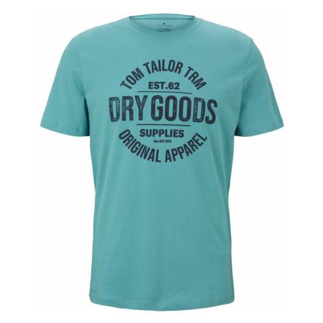 TOM TAILOR Herren T-Shirt mit Bio-Baumwolle , grün