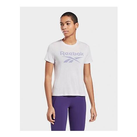 Reebok workout ready supremium big logo t-shirt - Luminous Lilac - Damen, Luminous Lilac