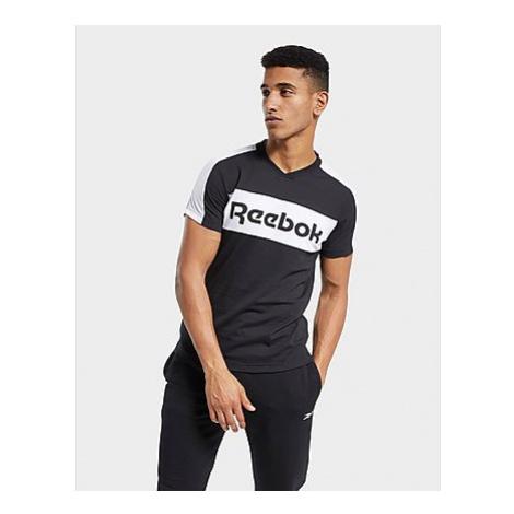 Reebok training essentials linear logo graphic t-shirt - Black - Herren, Black