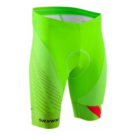 Herren Radsport Shorts Silvini Team MP1407 green