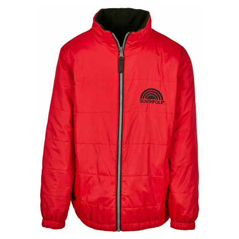 Southpole Jacke Herren REVERSIBLE COLOR JACKET SP016 Rot Red