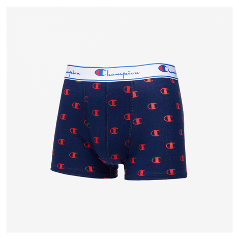 Champion 2pack Trunks Grey/ Navy/ Red