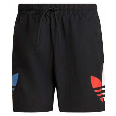 Adidas Originals Badeshorts Herren TRICOLOR SWIMS GN3568 Schwarz