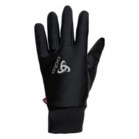Odlo ELEMENT WARM GLOVES schwarz - Handschuhe