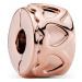 Pandora Charm People Gereihte Herzen Clip 781978