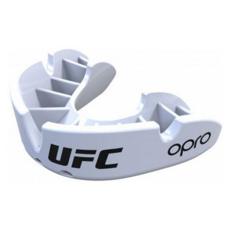 Opro UFC BRONZE weiß - Mundschutz
