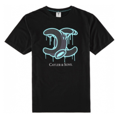 Cayler & Sons Drip Tee Black Mint White