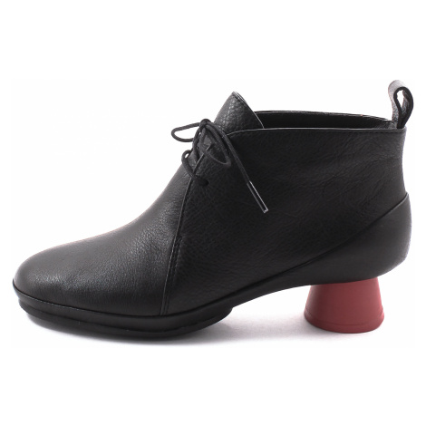 Camper, K400394 Alright Damen Stiefelette, schwarz-rot