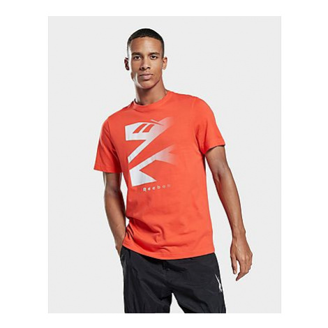 Reebok vector fade graphic t-shirt - Dynamic Red - Herren, Dynamic Red