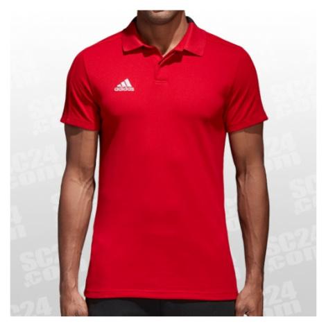Adidas Condivo 18 Cotton Polo rot Größe S