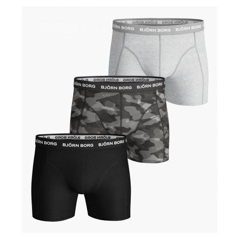 SHADELINE ESSENTIAL SHORTS 3-PACK Black Beauty,XXL Bjorn Borg