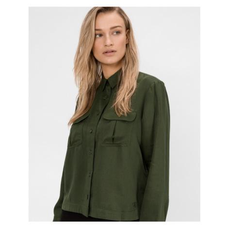 Calvin Klein Utility Hemd Grün