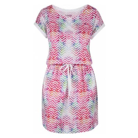 Loap ALORKA rosa - Kleid