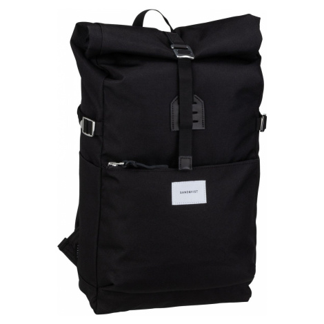 Sandqvist Rucksack / Daypack Ilon Rolltop Backpack Black (11.5 Liter)