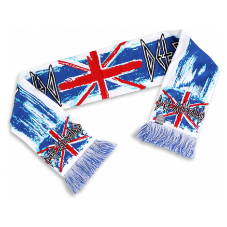 Schal Def Leppard - Union Jack´s - LOW FREQUENCY - DLSC001