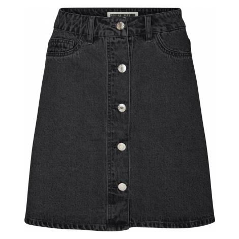Noisy May Damen Jeansrock Nmsunny Short Dnm Skater Skirt