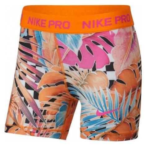 Nike NP SHORT BOY AOP1 orange - Mädchen Trainingsshorts