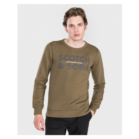 Scotch & Soda Sweatshirt Grün