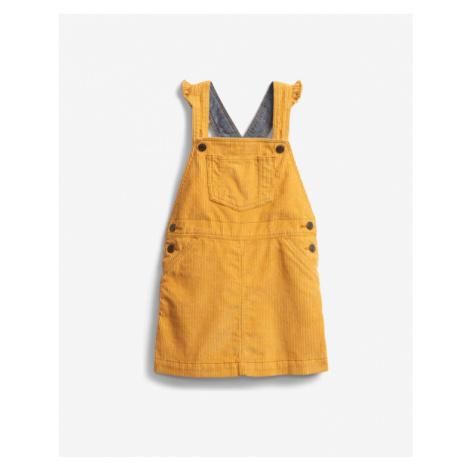 GAP Šaty mit Latz Kinder Gelb