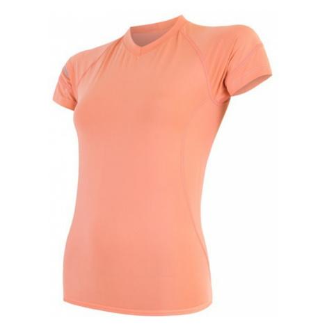 Damen T-Shirt Sensor COOLMAX FRESH aprikose 17100025