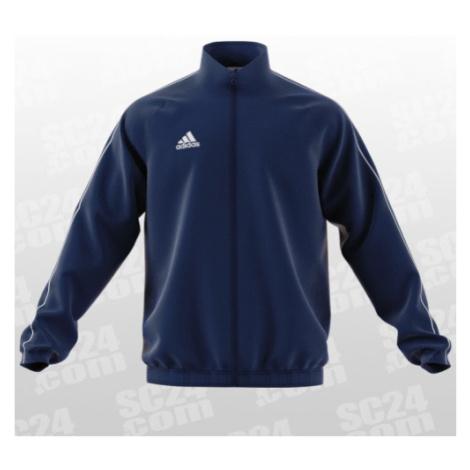 Adidas Core 18 Präsentationsjacke blau Größe XL