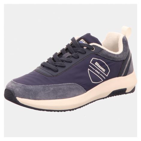 Herren Blauer Sneaker blau