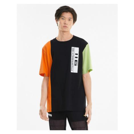 Puma Porsche Legacy Statement T-Shirt Schwarz Grün Orange