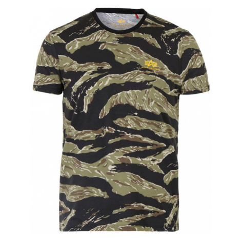 Herren T-Shirt Alpha Industries Tiger Camo T Tiger Camo