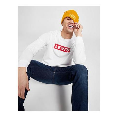 Levis Boxtab Langarmshirt T-Shirt Herren - Herren Levi´s