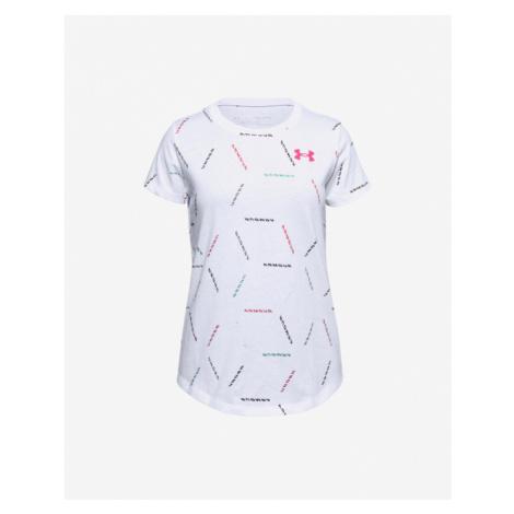 Under Armour Twich Multi Print Kinder  T‑Shirt Weiß