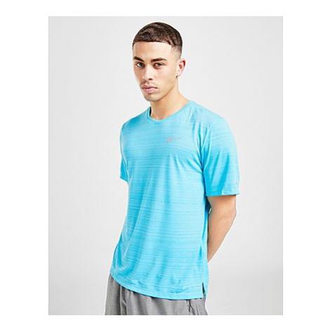 Nike Miler kurzärmeliges T-Shirt - Chlorine Blue - Herren, Chlorine Blue