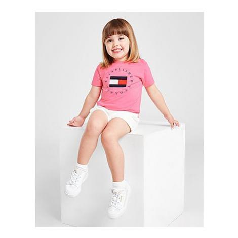 Tommy Hilfiger Girls' Circle Logo T-Shirt/Shorts Set Baby - Kinder