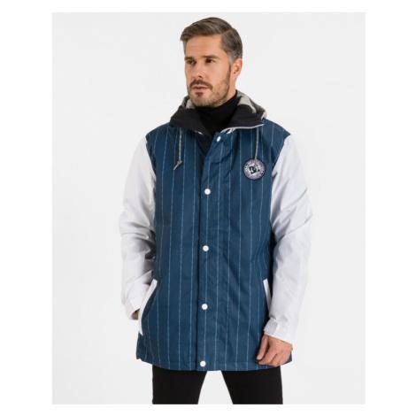 DC Jacke Blau Weiß