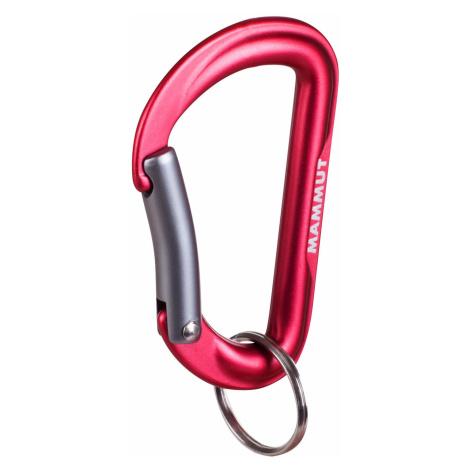 Mammut Mini Biner Element Schlüsselanhänger rot