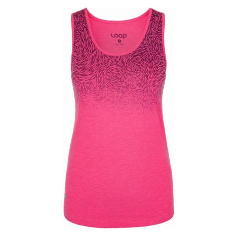 Loap BLORA rosa - Damen Tank-Top