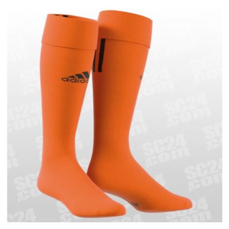 Adidas Santos 3-Stripe orange/schwarz Größe 37-39
