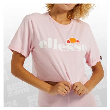 Ellesse Alberta Crop T-Shirt Women rosa/weiss Größe S